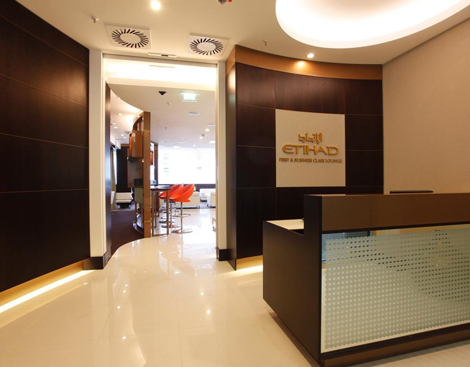 Etihad Airways Business Lounge [© Etihad Airways]