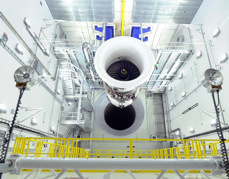 Rolls Royce Testing Unit [© Rolls-Royce plc]