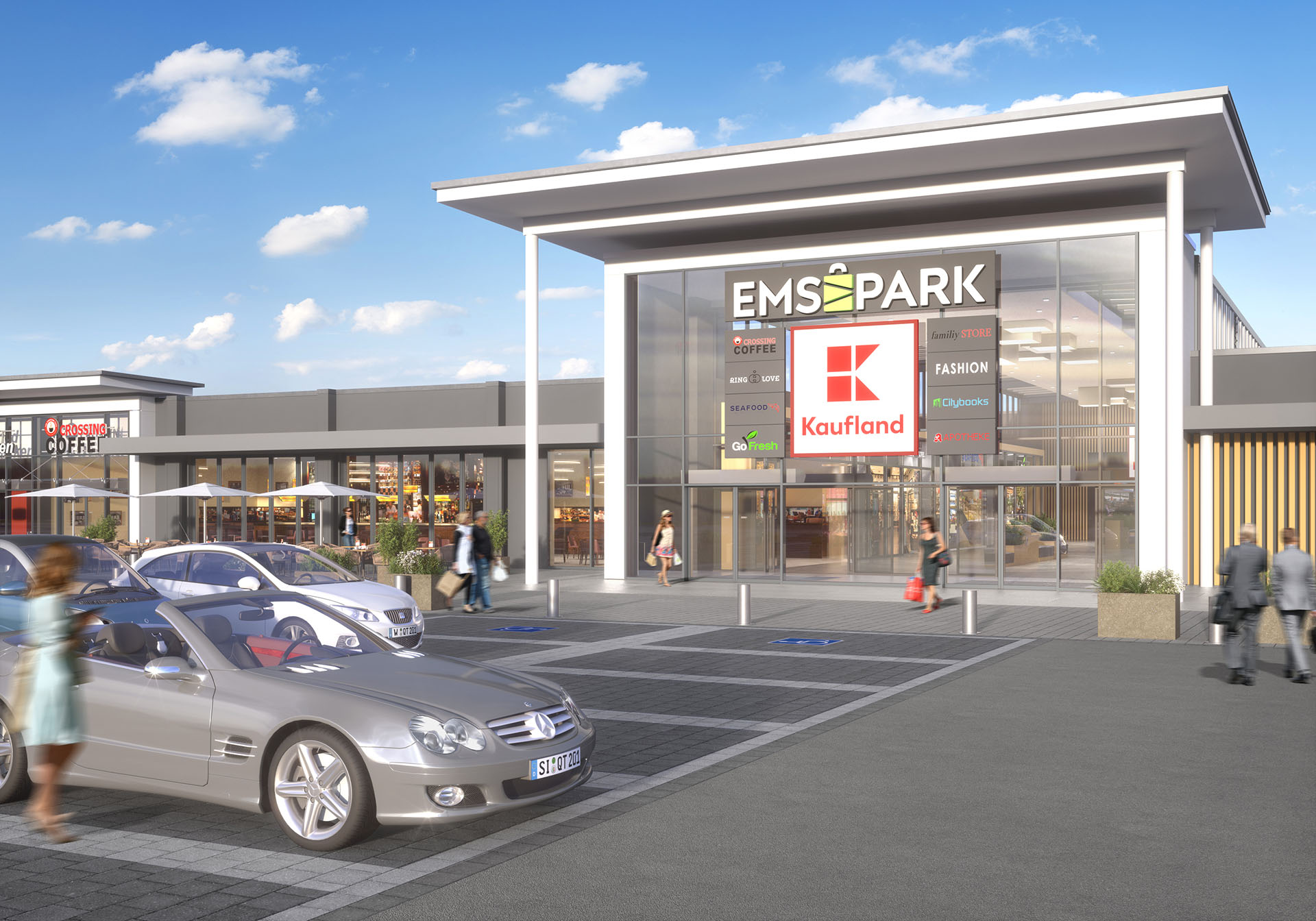 emspark shopping centre redevelopment due to commence